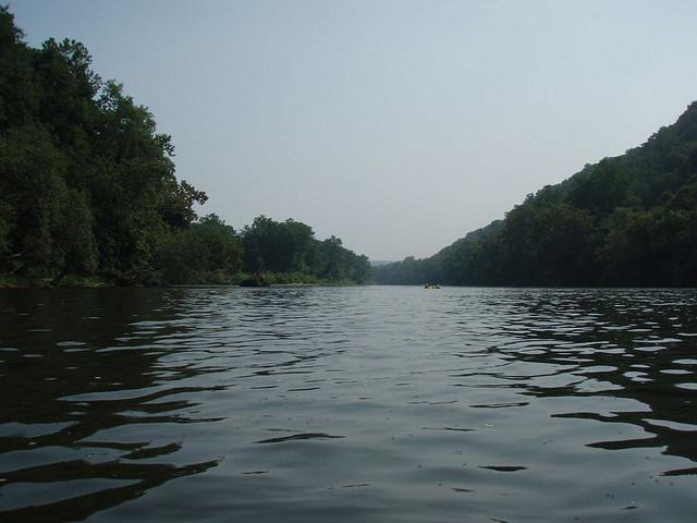 Delaware River tubing