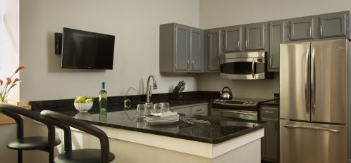Deluxe Full Service Suite Kitchen