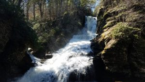 Go on a waterfall tour of Dingmans Falls